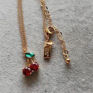 Kate spade cherry pendant necklace